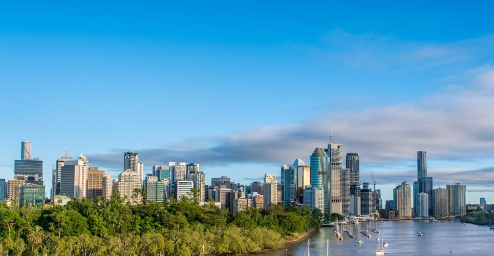 Brisbane is becoming increasingly popular with travellers.