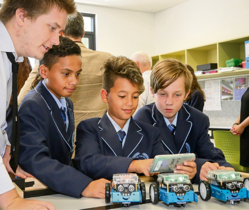 Cecil Andrews College students are excelling under the pilot Pathways in Technology program.