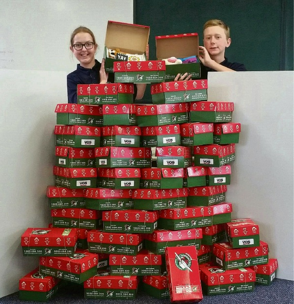 Year 6 students Cameron Elphick and Holly Conolly enjoyed participating in the project.