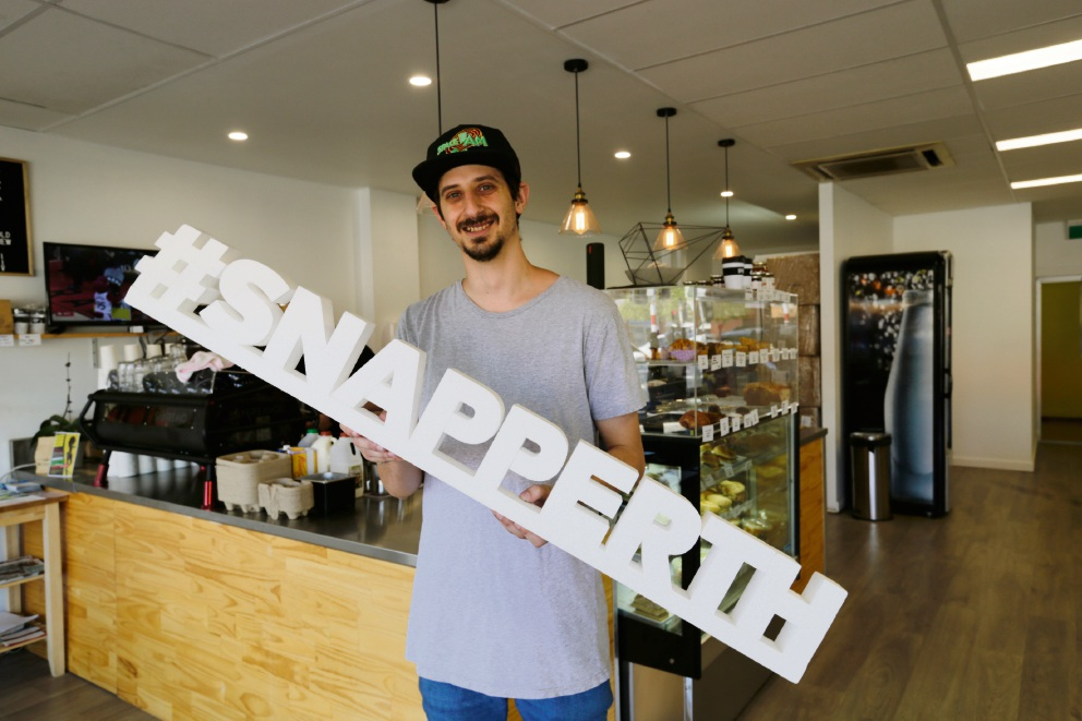 #SnapPerth: Osborne Park cafe Sondrea Espresso offering comfort as well as a cuppa