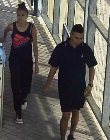 Armadale detectives release CCTV of pair wanted over train line bag snatch and assault