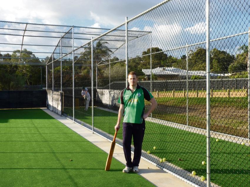 James Kinsella is hoping to increase membership at Helena Valley Cricket Club.