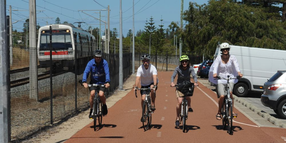 Local govt members call for earlier completion of cycling