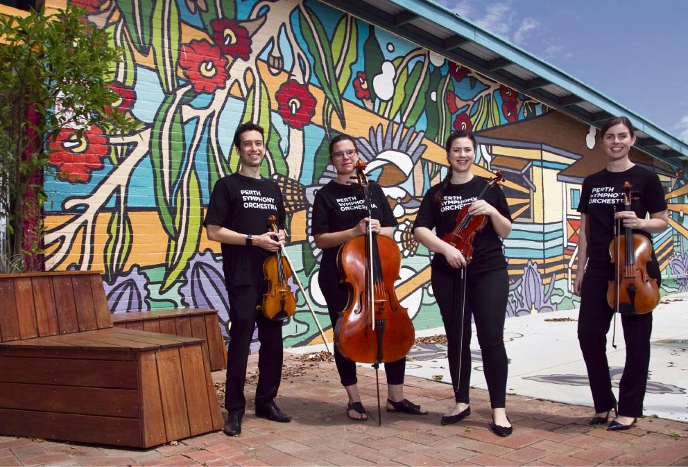 Symphony pop-ups in Kwinana