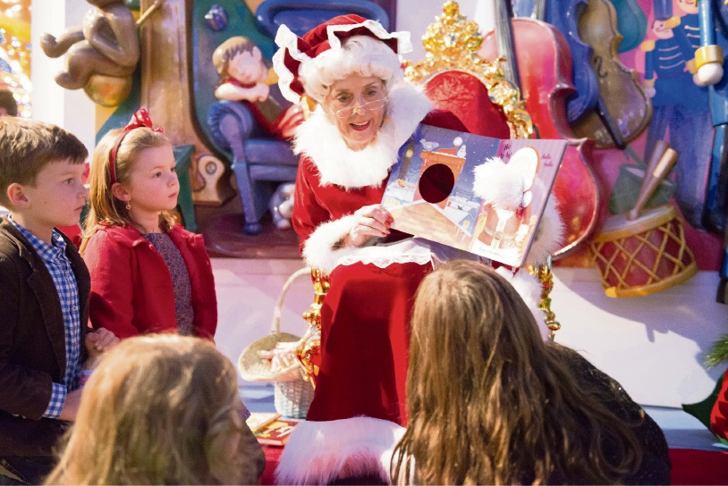 Mrs Claus.