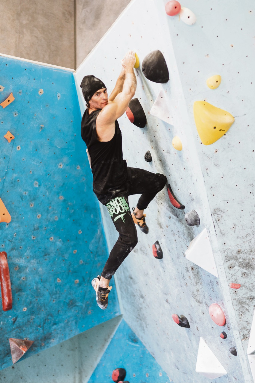 Falcon resident climbs to the top at National Bouldering Championships