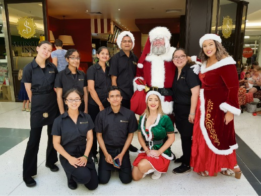 Ho Ho Ho: Santa arrives at Westfield Innaloo