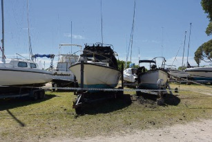 Peron: the Arson Squad is investigating two boat fires this morning