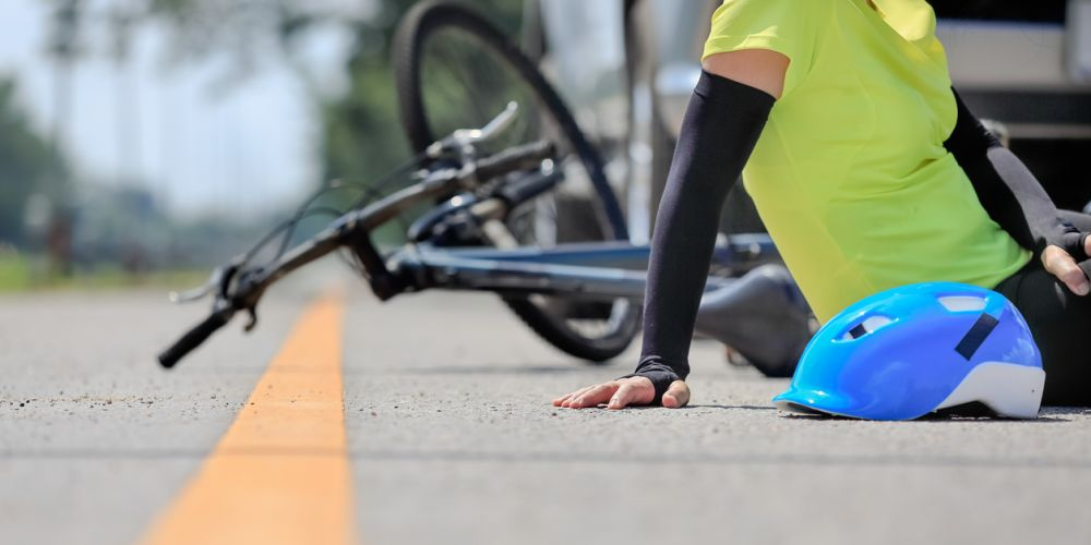Check the facts about accidents involving cyclists.