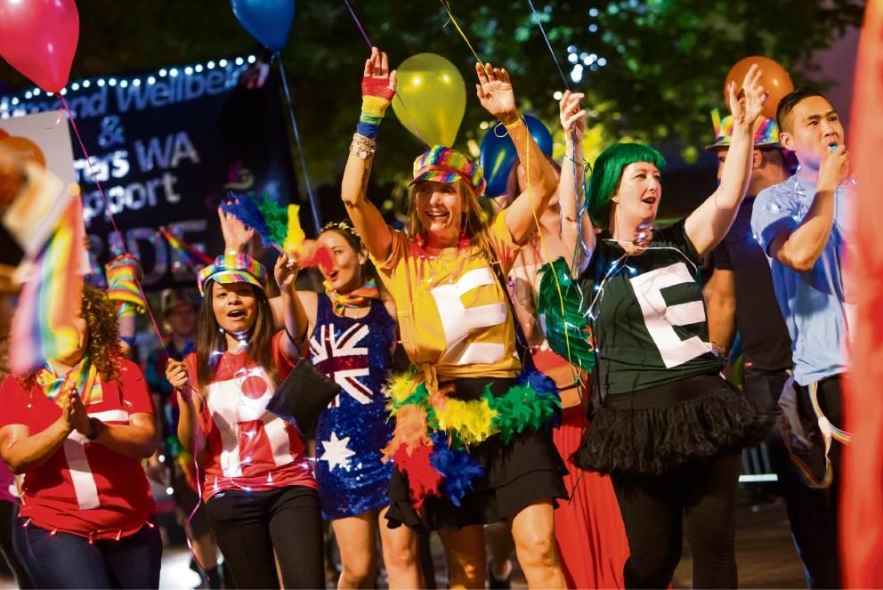 Pride Parade. Pictures: Matt Jelonek