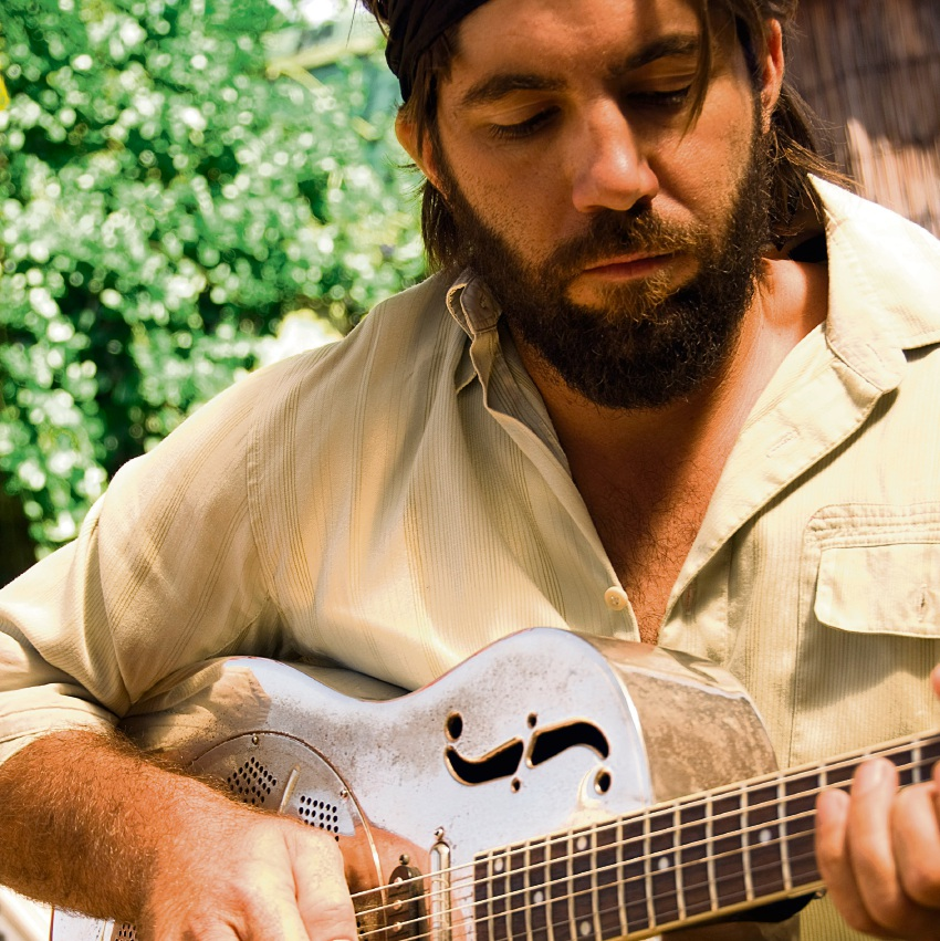 Perth musician Matt Cal.