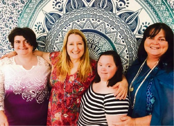 Kristi McInerney, Diana Oliver, Tina Fielding and Sally Newman.