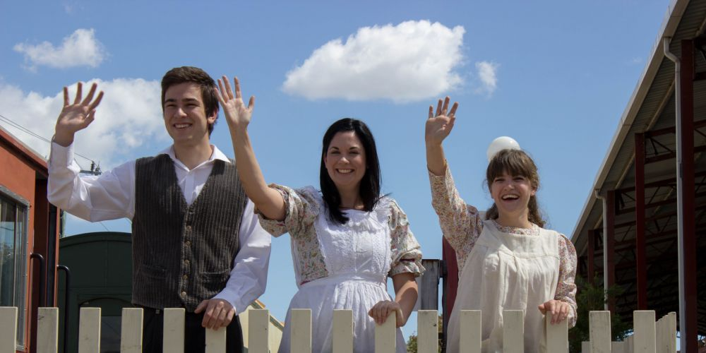 The Railway Children: Harbour Theatre's new production is on track