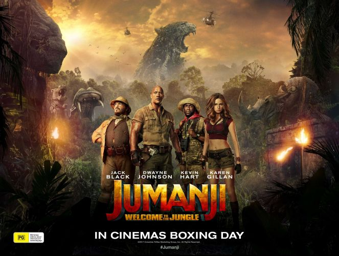 Win tickets to Jumanji: Welcome to the Jungle