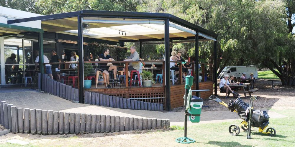 The gym now has a cafe used by many near Claremont Golf Course.