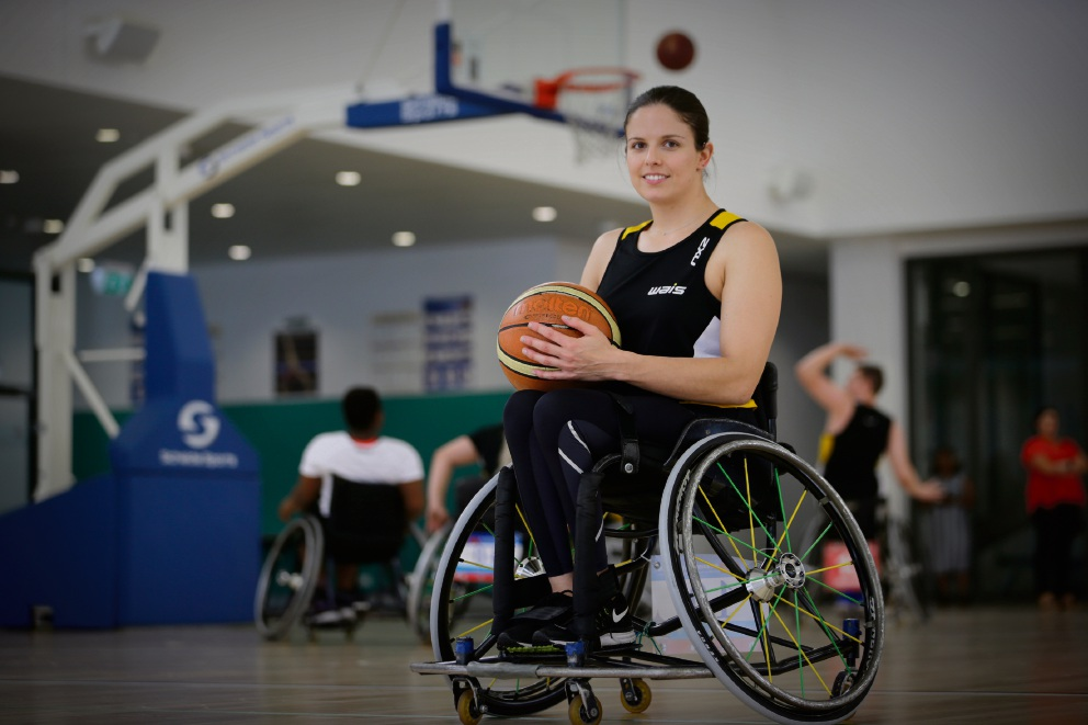 Clare Nott is a dual Paralympian. Picture: Andrew Ritchie www.communitypix.com.au d476941