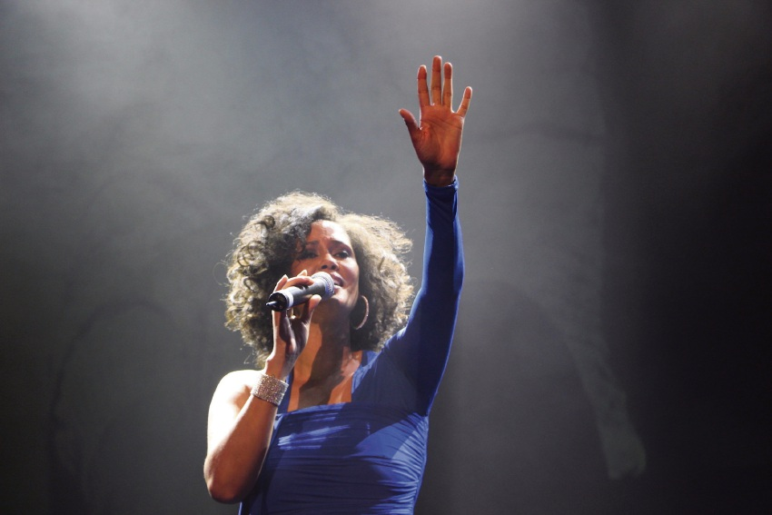 Belinda Davids in The Greatest Love of All - The Whitney Houston Show.