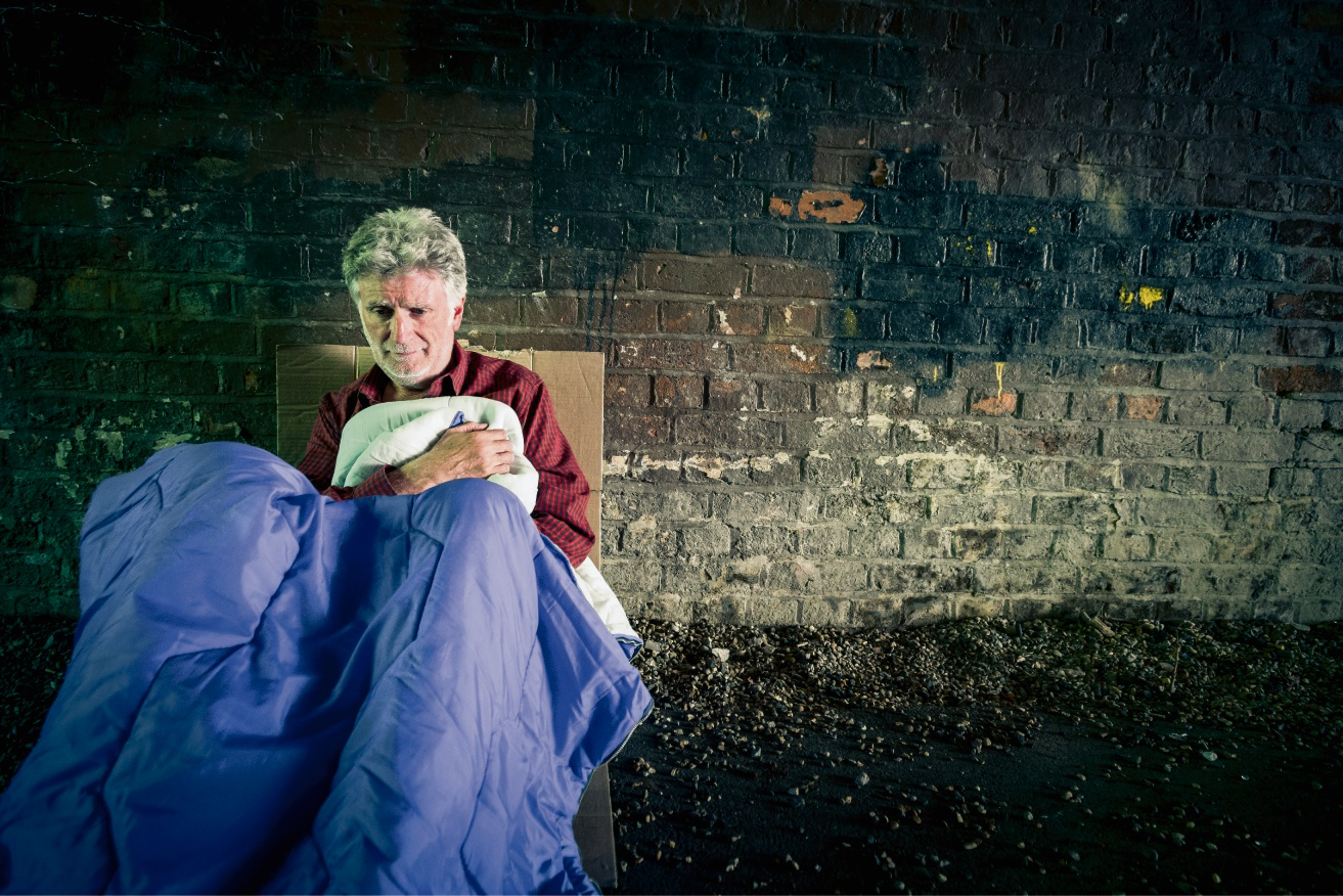 Mission Australia say there is an increasing number of elderly people being forced into homelessness.