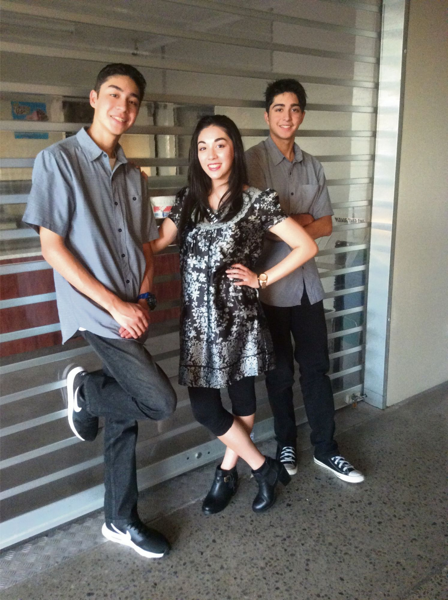 Antonio, Maria and Emilio Gonzalez of the 3Gs.