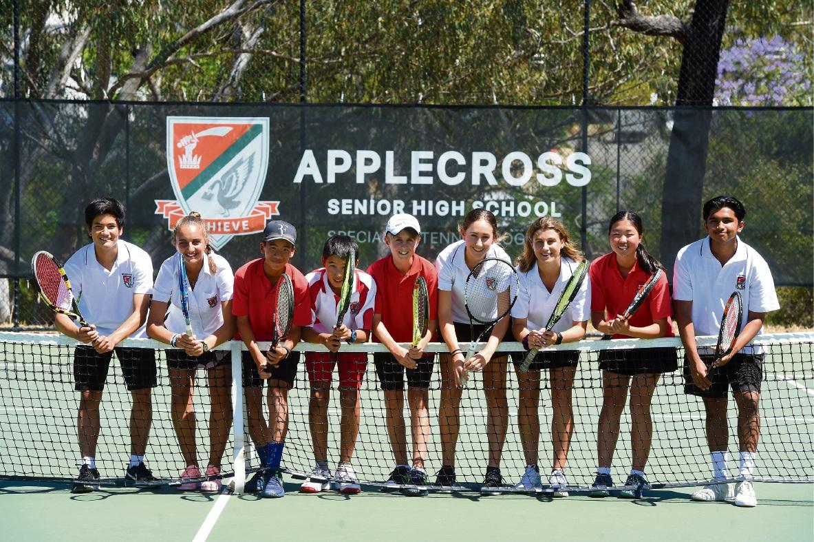 Applecross SHS tennis players to visit John New be Tennis Ranch