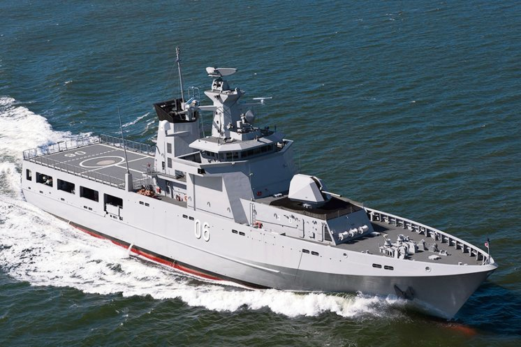 An Offshore Patrol Vessel, designed by Lrssen. Picture: Royal Australian Navy