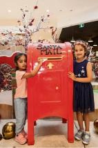 Aaliya Sardar (3) and Pratibha Mandhan (5), of Clarkson.