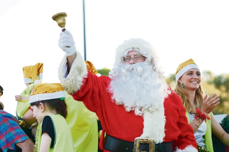 Father Christmas will be a highlight of the Community Christmas Pageant on Tuesday, December 12.