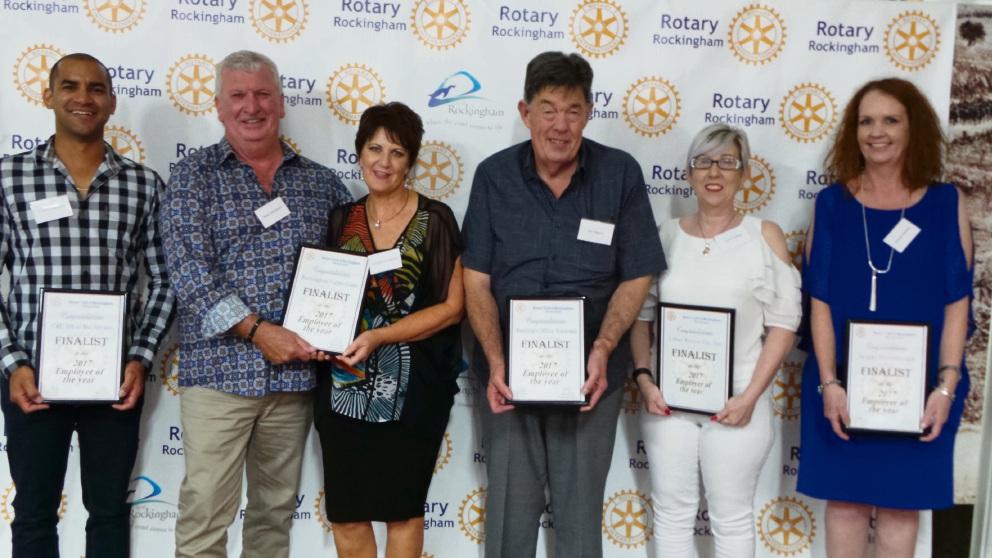 Rockingham's shining employer rewarded with Rotary Club Employer of the Year award