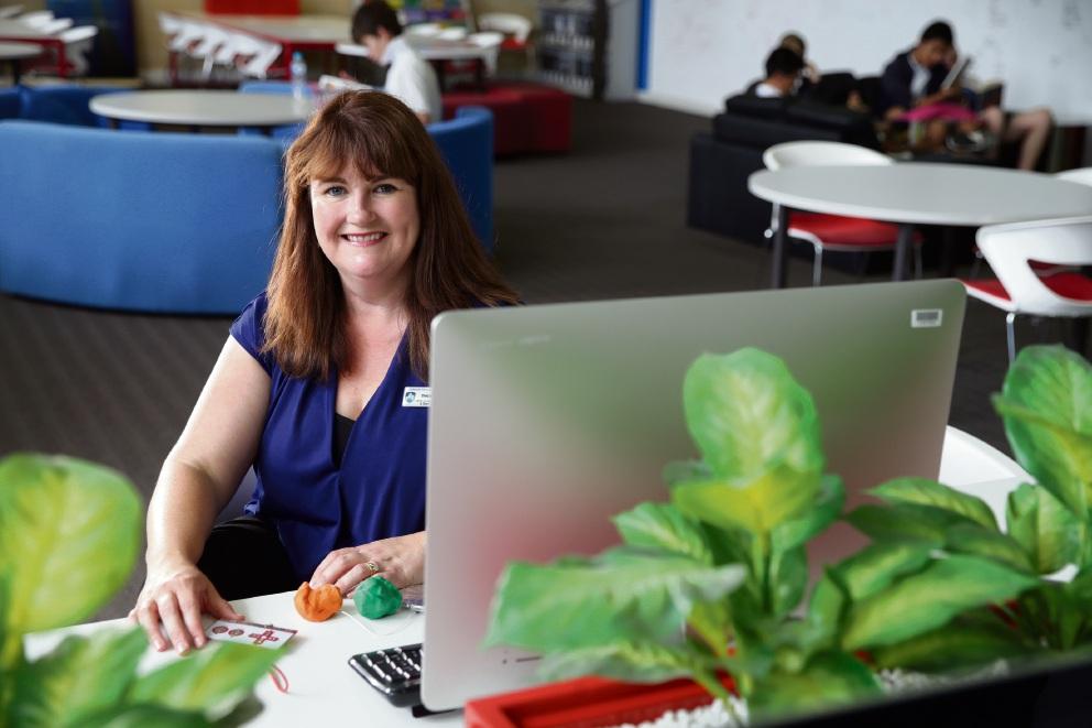 Ashdale Secondary teacher Debbie Yates. Picture: Martin Kennealey d476885