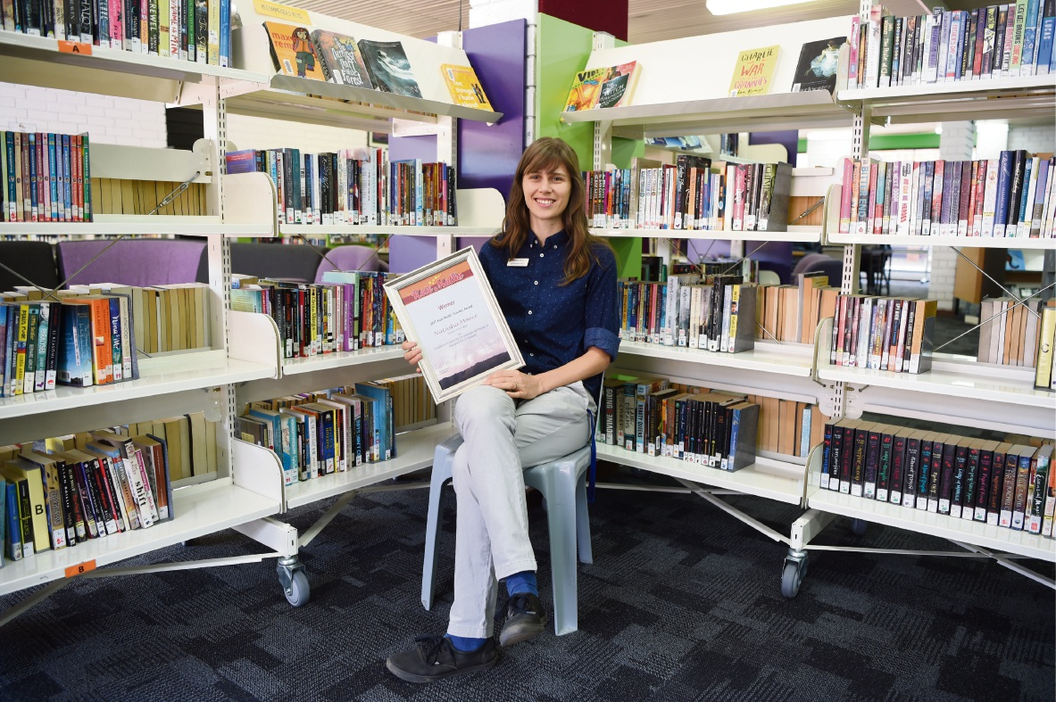 2017 Kate Mullin Teacher Award winner Natasha Moore.