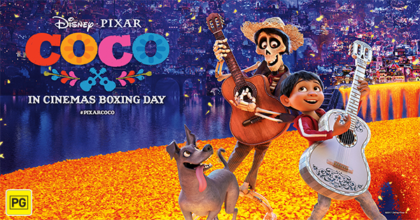 "Win a family pass to Disney●Pixar's ""COCO"""