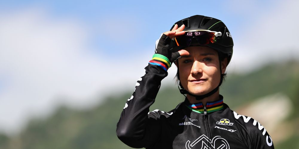 Marianne Vos of Netherlands and WM3 Procyclying has voiced her support for better cycling infrastructure north of Perth. Picture: Bryn Lennon/Getty Images