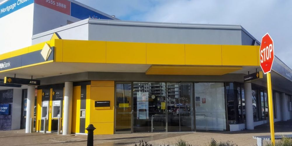 The Commonwealth Bank site in Mandurah.