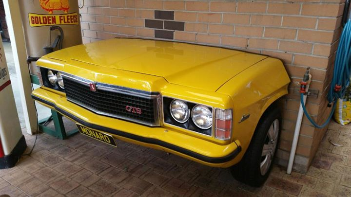 Mandurah: the perfect bogan Christmas gift; a Holden Monaro GTS barbeque