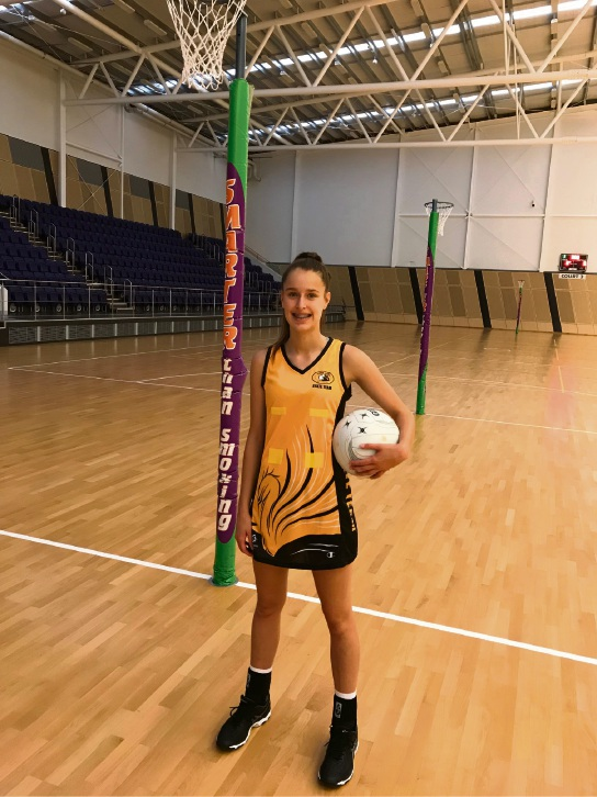 Canning Vale teen netball star struts her stuff on the national stage