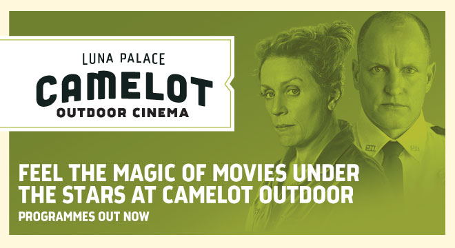 Win tickets to Camelot Outdoor Cinema