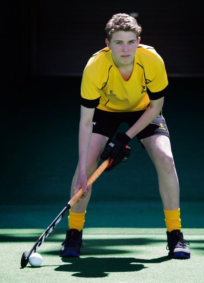 Simon Naughtin will be playing for gold in the indoor hockey championships. Picture: Martin Kennealey d476735
