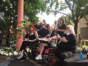 A White Flower Memorial was held for people to commemorate the life of Kwinana autistic teenager Aaron Pajich.
