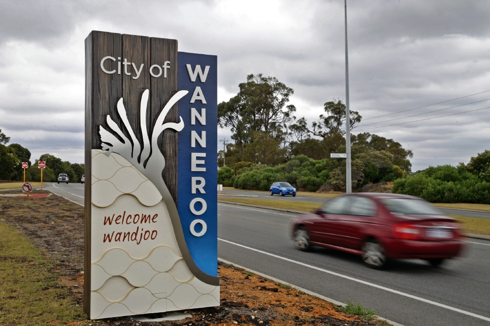 New Wanneroo entry statement. Picture: Martin Kennealey d475808