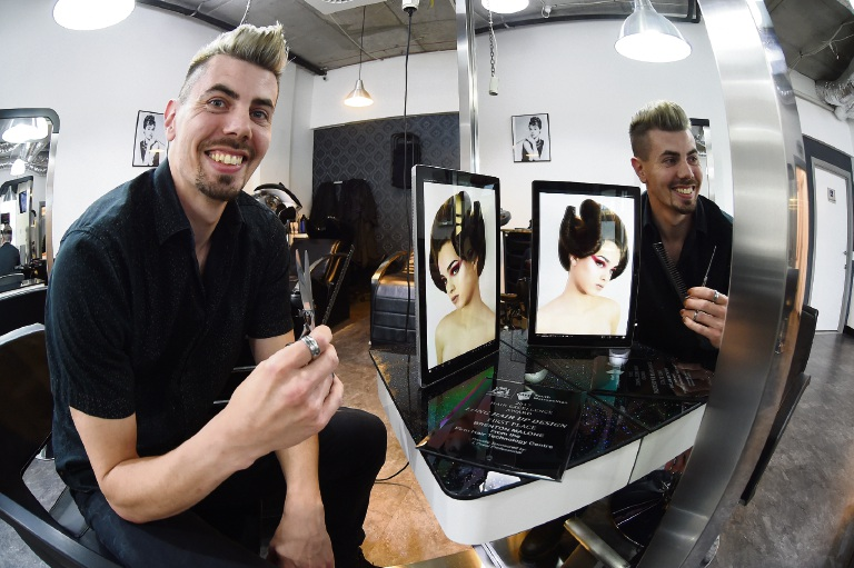 Brenton Malone claimed first place in the Long Hair Design category at South Metropolitan Tafe's Hair Excellence Awards.