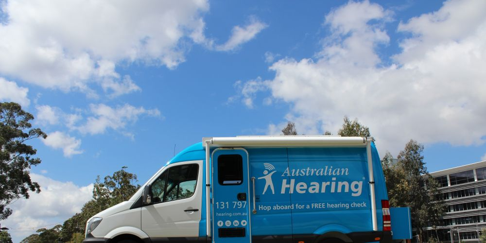 The Australian Hearing bus is coming to Belmont this month.