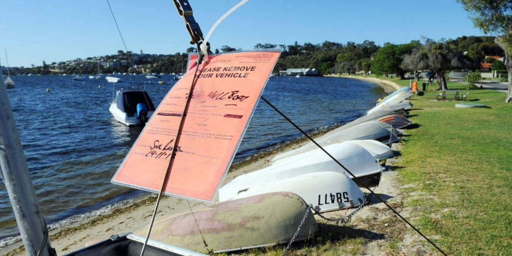 Dinghies will be under greater control in Mosman Bay. Picture: Jon Bassett