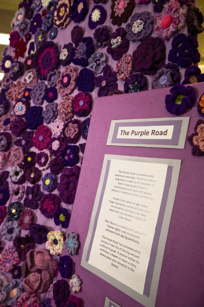 The Purple Road is at Joondalup Library. Picture: Will Russell d476780