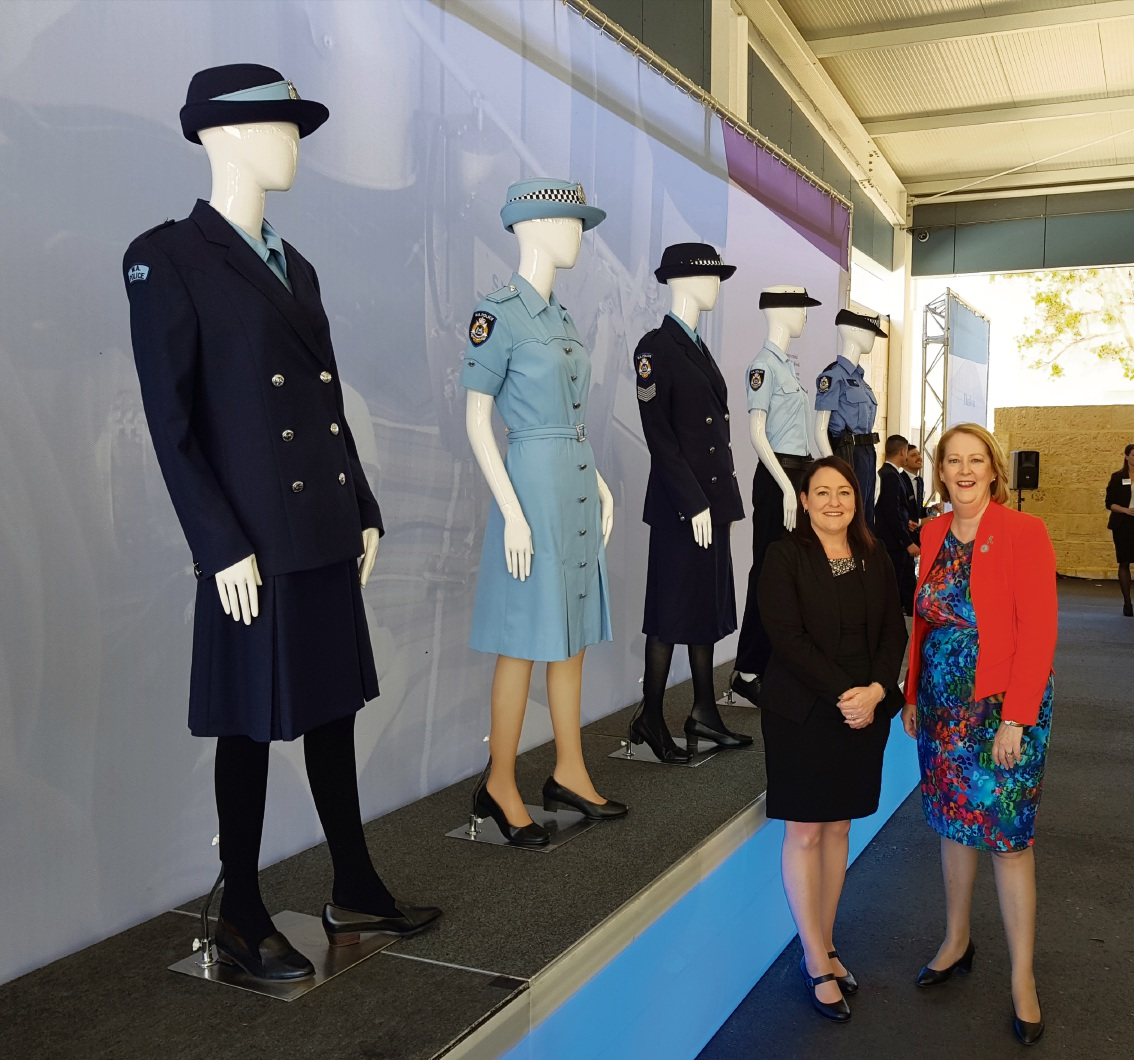 Joondalup MLA Emily Hamilton and Police Minister Michelle Roberts at the opening.