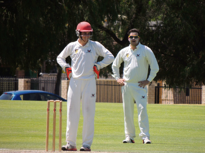 Wicketkeeper James Collins made a handy contribution with the bat in his second grade debut.