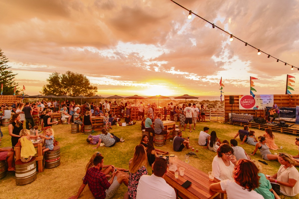 The Sunset Veranda at Scarborough returns for the Summerset Arts Festival. Picture: Mac1 Photography