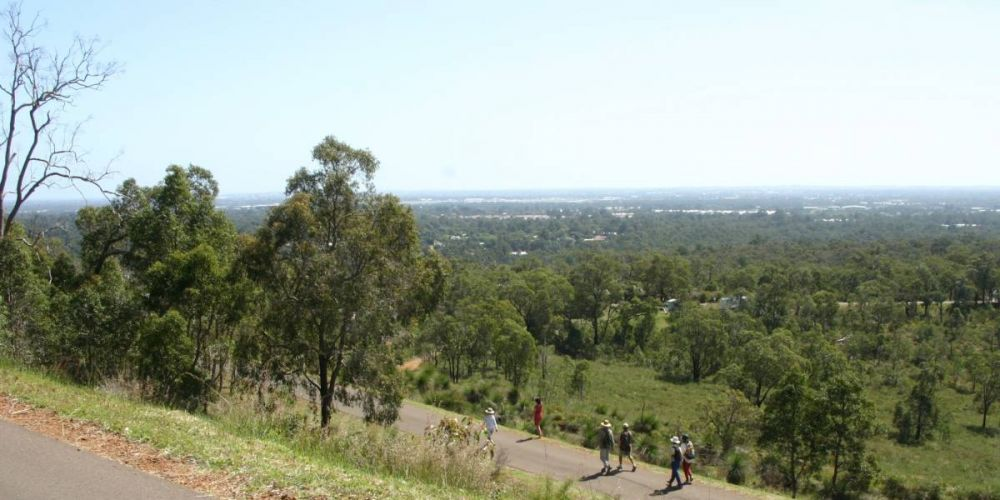 Kalamunda's Zig Zag trail. Photo: Rail Trails Australia