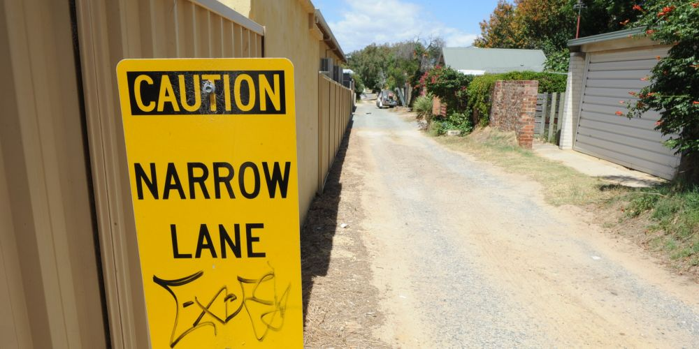 Cottesloe residents continue to request tarmac on laneway previously rejected to protect bobtail