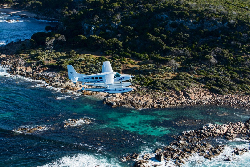 The views are unrivalled aboard the Cessna.