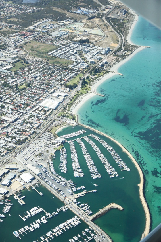 Fremantle from above.